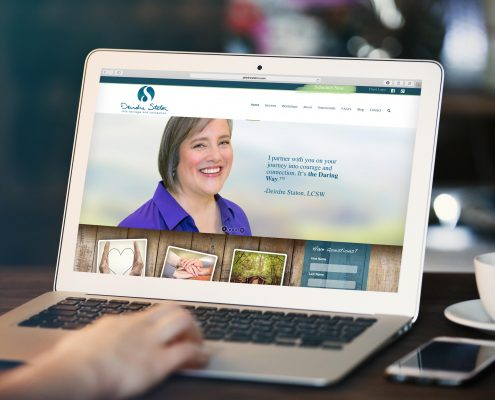 Deirdre Staton Rebrand & Website Development