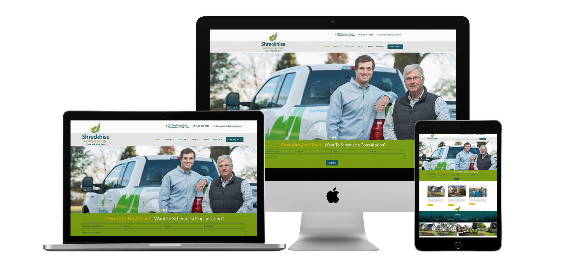 Web Design, Web Development Harrisonburg