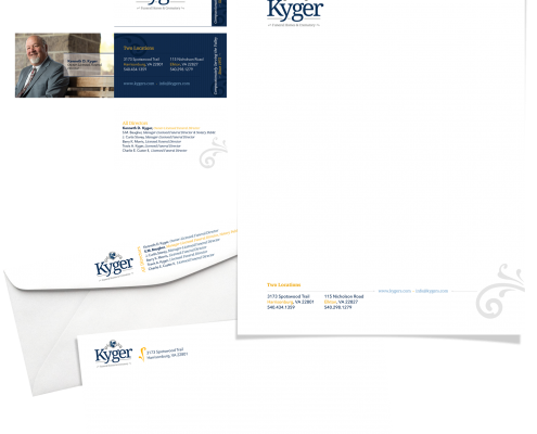 Kyger Stationery Design