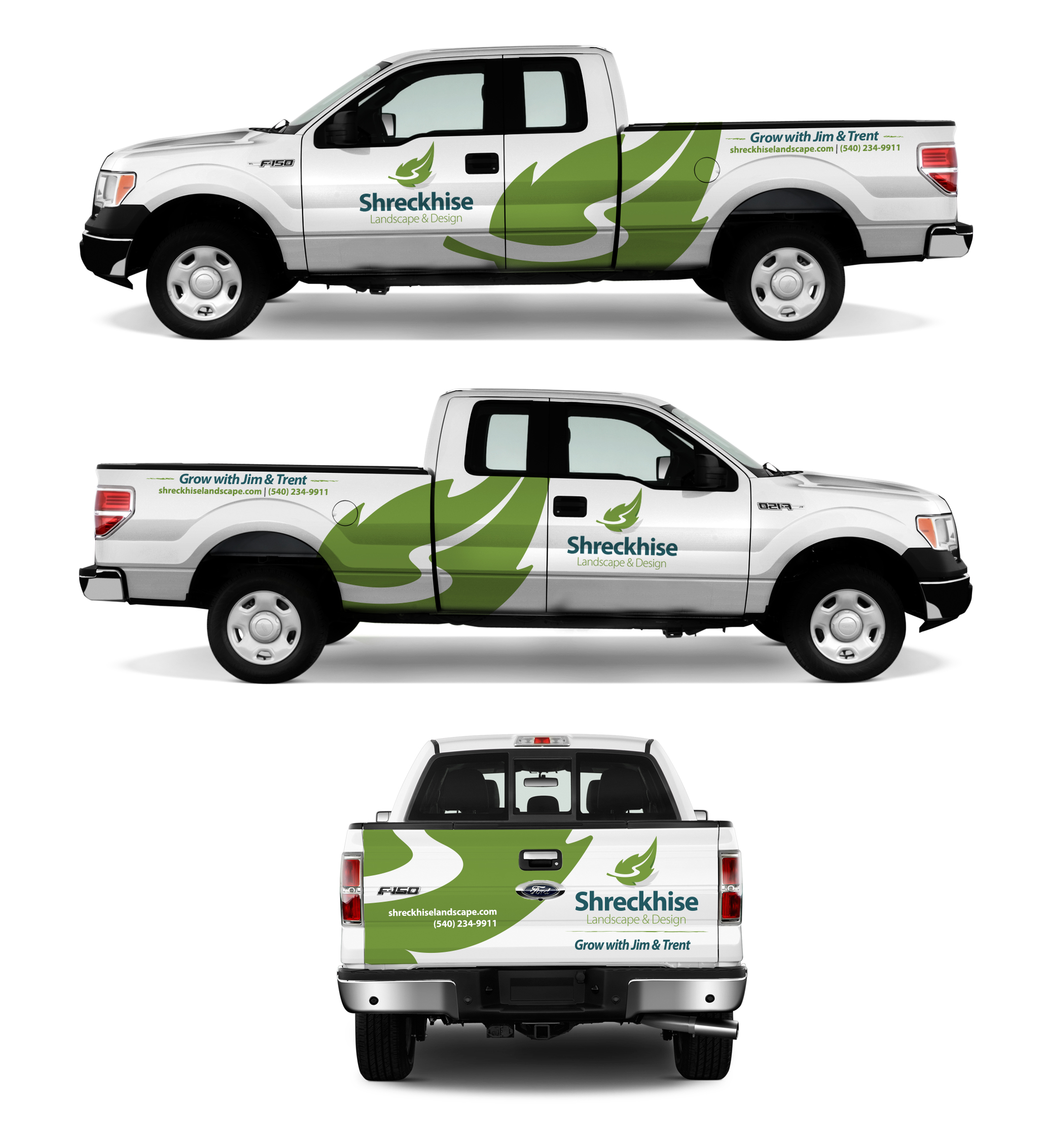 shreckhise vehicle graphics design