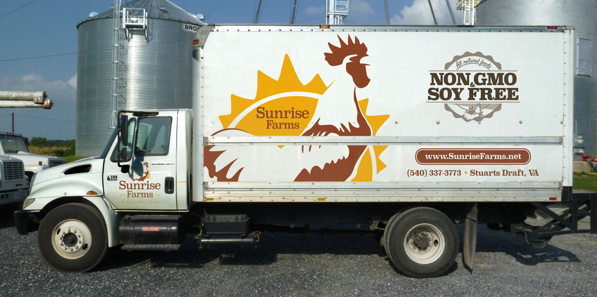 sunrise farms truck