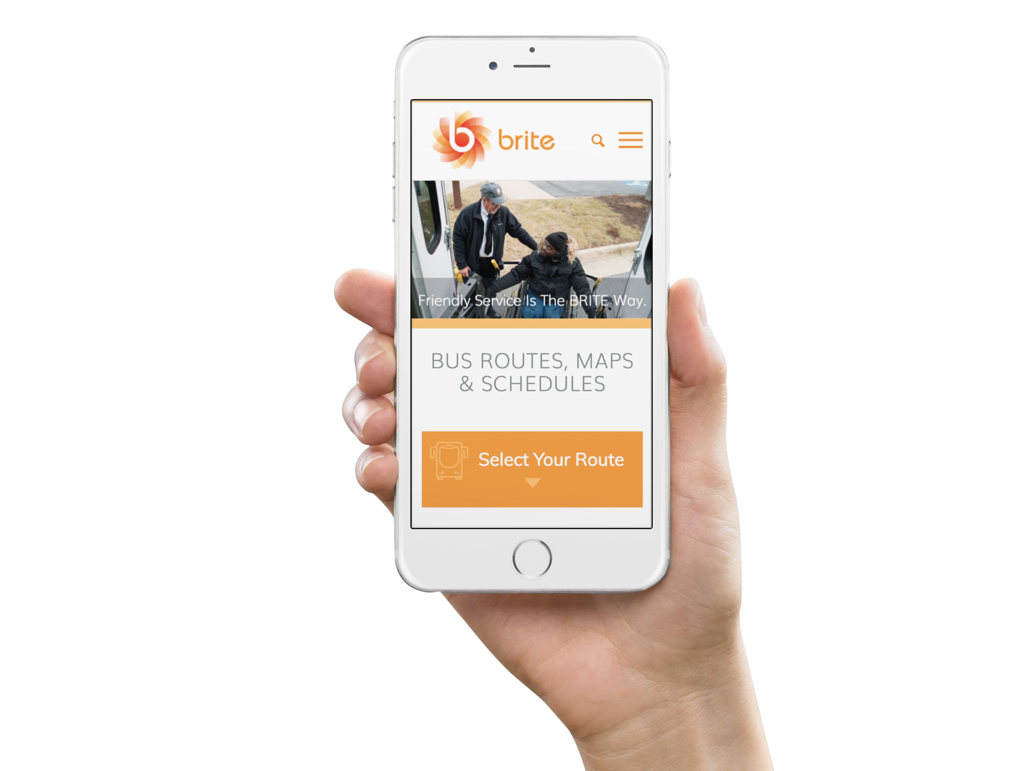Brite Bus Transit Website Design